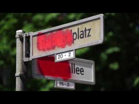 Berlin street guide welcomes names reminiscent of colonial Germany