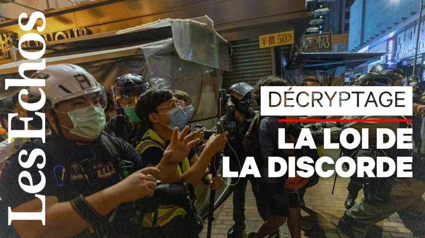 Illustration pour la vidéo Hong Kong / Chine : pourquoi les manifestants ne décolèrent pas