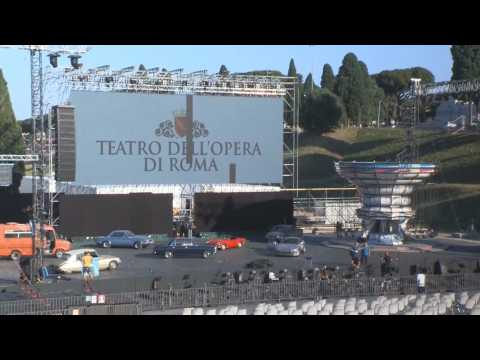 Rome opens its lyrical summer with social distancing measures