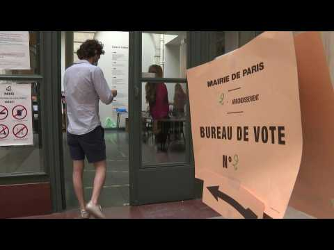 Paris voting stations open for second round of municipal elections