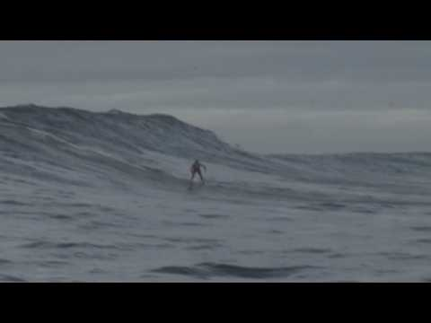 12-year-old surfer rides waves in Cape Town