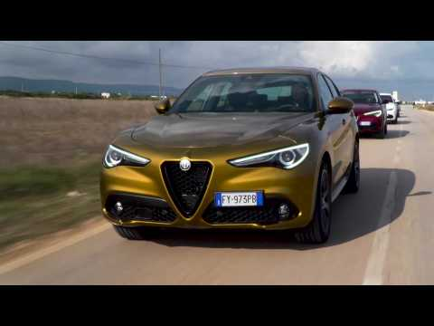 New 2020 Alfa Romeo Giulia & Stelvio Driving Video