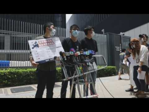 Hong Kong activists call on global leaders to oppose National Security Law