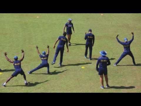 Training resumes for Sri Lankan cricket team after two-month break due to pandemic