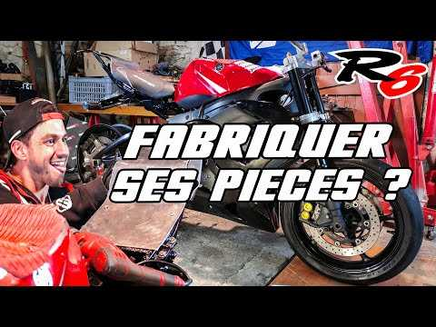 Fabriquer ses pièces de moto, mauvaise idée ? REMONTAGE R6 DE STUNT #2