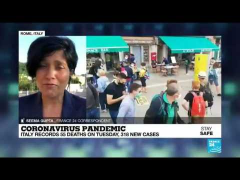 Italy reopens borders, though Covid-19 cases continue to rise