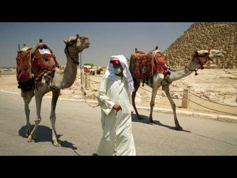 Egypt reopens pyramids after coronavirus shutdown