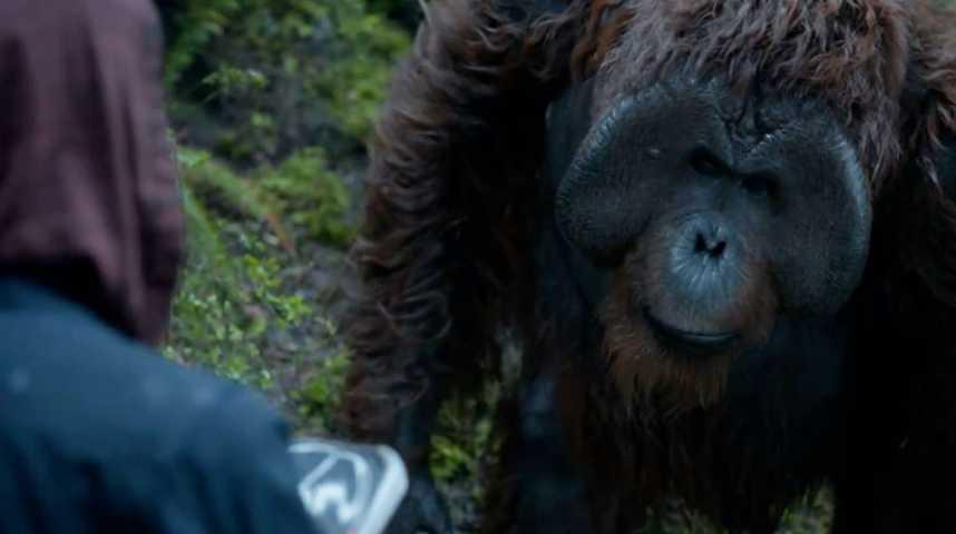 La Planète des singes : l'affrontement - Extrait 7 - VF - (2014)