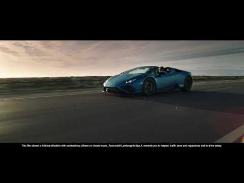 The new Lamborghini Huracan EVO RWD Spyder Preview