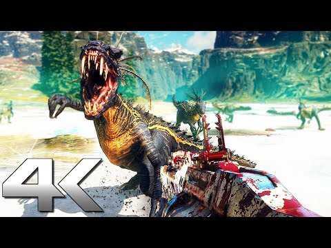 SECOND EXTINCTION Gameplay 4K (2021) Next-Gen Xbox Series X