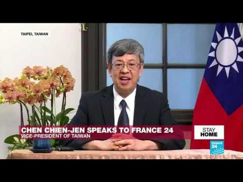 Taiwan's vice president says China 'seriously underreported Covid-19 cases'