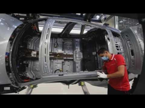Porsche resumes production of 'Taycan' in Stuttgart