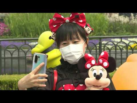Shanghai Disneyland reopens after three-month coronavirus closure