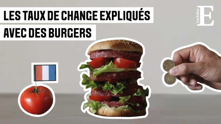 Illustration pour la vidéo Eureka #5 : Les taux de change expliqués avec des burgers