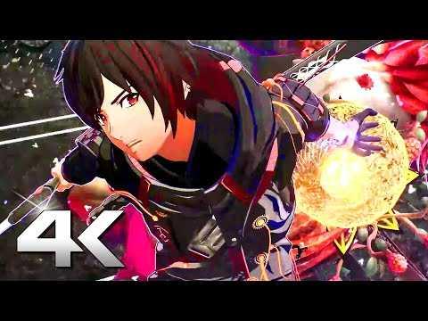 SCARLET NEXUS Animation Trailer 4K (2021) PS5
