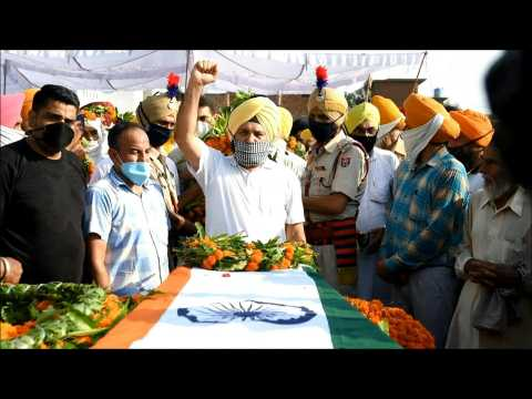Funeral held for Indian soldier Satnam Singh killed in China border clash