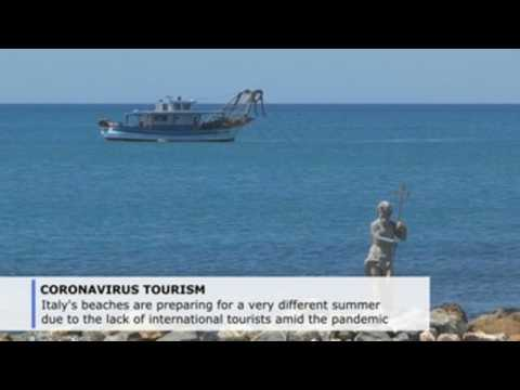 Italian coastal towns nervously eye a summer season like no other
