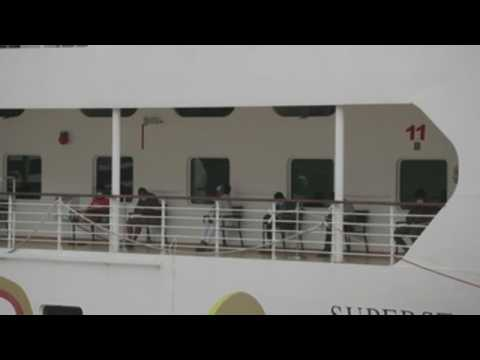 Singapore houses recovered migrant workers on cruise ship