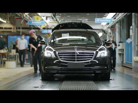 Restart Mercedes-Benz plant Sindelfingen