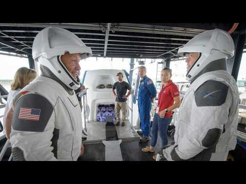 Historic launch today: Space X sends two NASA astronauts to ISS