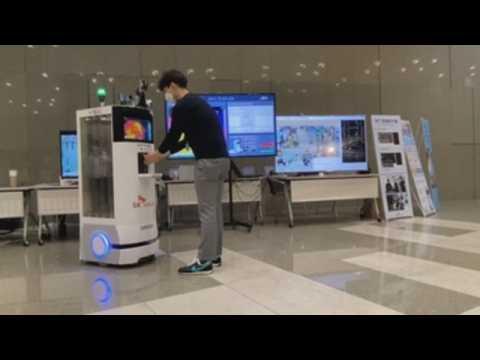 5G autonomous robot joins fight against COVID-19 in South Korea