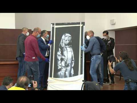 Banksy work stolen from Paris concert hall found in Italy