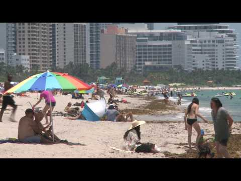 Miami beaches open after three months of COVID-19 closure