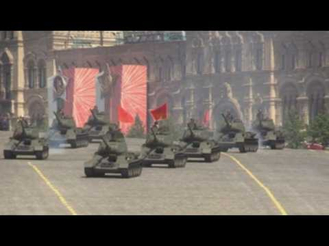 Moscow prepares for Victory Day Parade