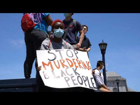 San Francisco rallies for Juneteenth and Black Lives Matter
