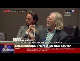 """Didier Raoult : """"J'ai été menacé, j'ai porté plainte"""""""