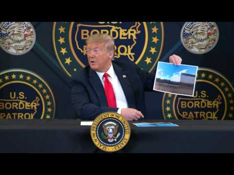 """Trump: border wall is """"most powerful and comprehensive"""" structure"""