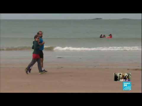 France's beaches reopen to swimming and fishing in some areas as gov't tries to restart tourism