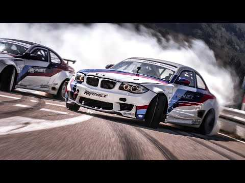 TOUGE DRIFT : ///Mountain Attack - BMW M3 and 1M drifting on the road