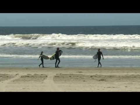 US: Surfers head to the ocean as Los Angeles County beaches reopen