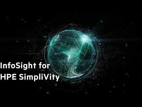 Hewlett Packard Enterprise: InfoSight for HPE SimpliVity