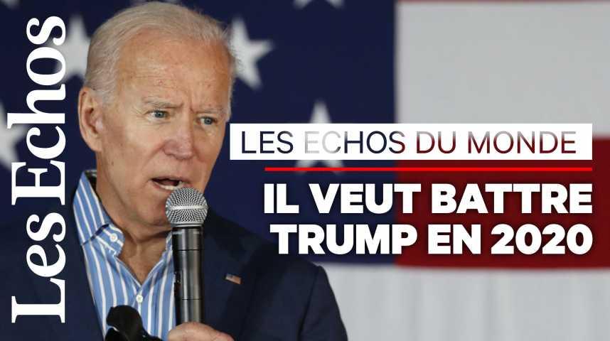 Illustration pour la vidéo Joe Biden, le candidat qui se voit en rempart contre Trump