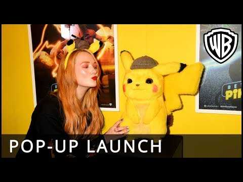 POKÉMON Detective Pikachu – Pop-Up Launch Event - Warner Bros. UK