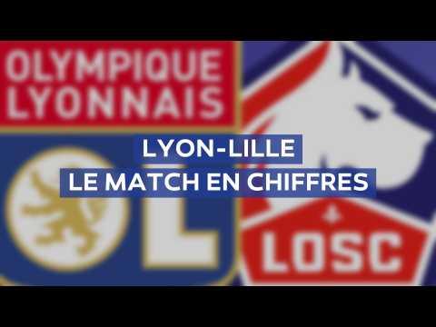 Lyon-Lille : le choc de la 35e journée de Ligue 1 en chiffres