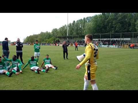 Football.Les Francs Borains passent le premier tour.Video Eric Ghislain