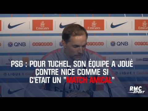 """PSG : Pour Tuchel, son équipe a joué contre Nice comme si c'était un """"match amical"""""""