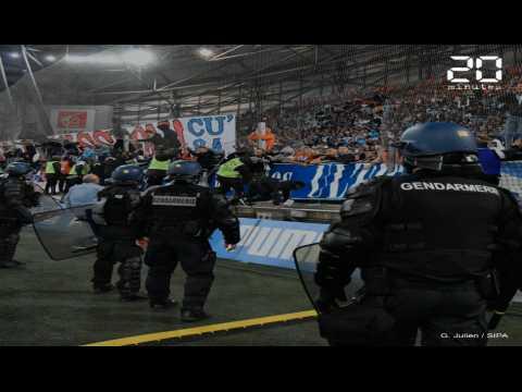 OM-OL: Bus caillassé, début d'envahissement, lacrymos... Olympico tumultueux à Marseille