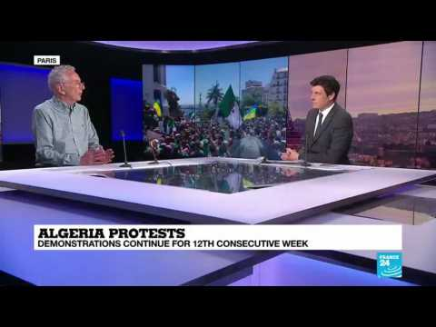 Algeria Protests : demonstrations continue for 12th consecutive week