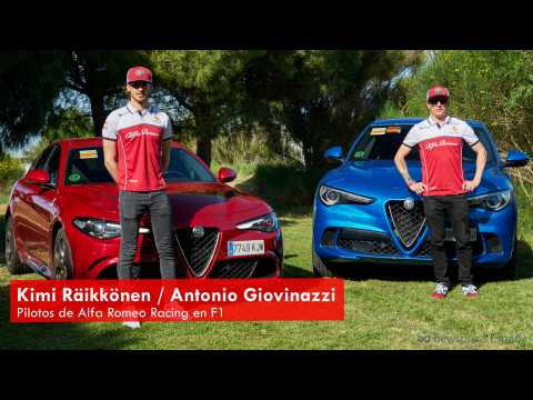 Alfa Romeo Racing - Kimi Raikkonen and Antonio Giovinazzi