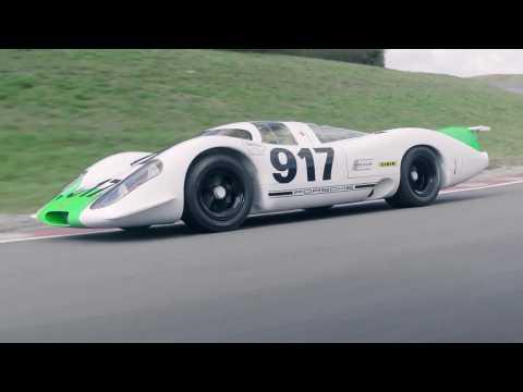 The trailblazer returns - 50 years of the Porsche 917