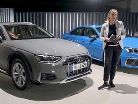 A bord de l'Audi A4 (2019)