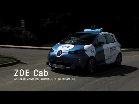2019 Renault ZOE CAb - Paris-Saclay Autonomous Lab Highlights