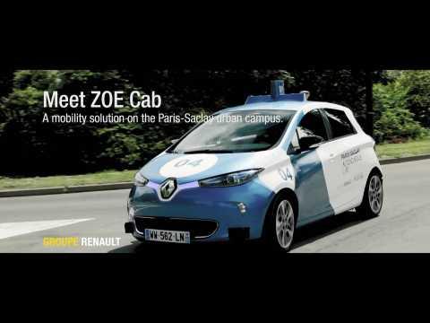 2019 Renault ZOE CAb - Paris-Saclay Autonomous Lab Preview