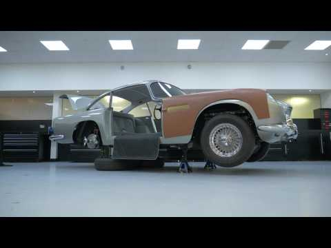 Aston Martin Goldfinger DB5 Overview