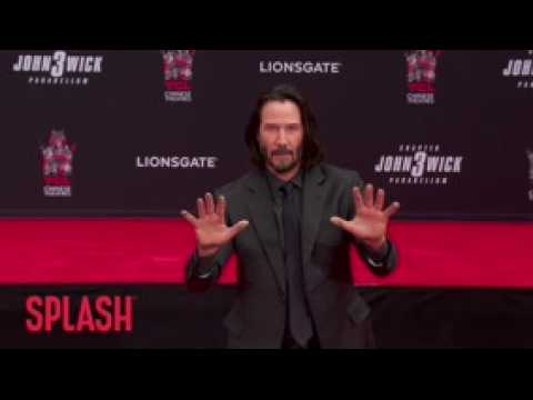 Keanu Reeves Immortalized At TCL Chinese Theatre