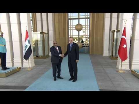 Erdogan welcomes Iraqi Prime Minister in Ankara